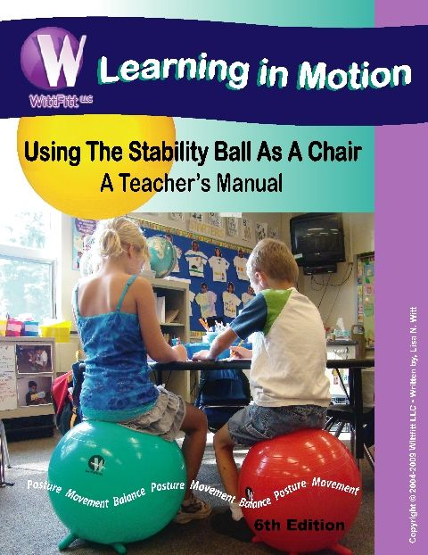 Manual For Stability Ball Chair