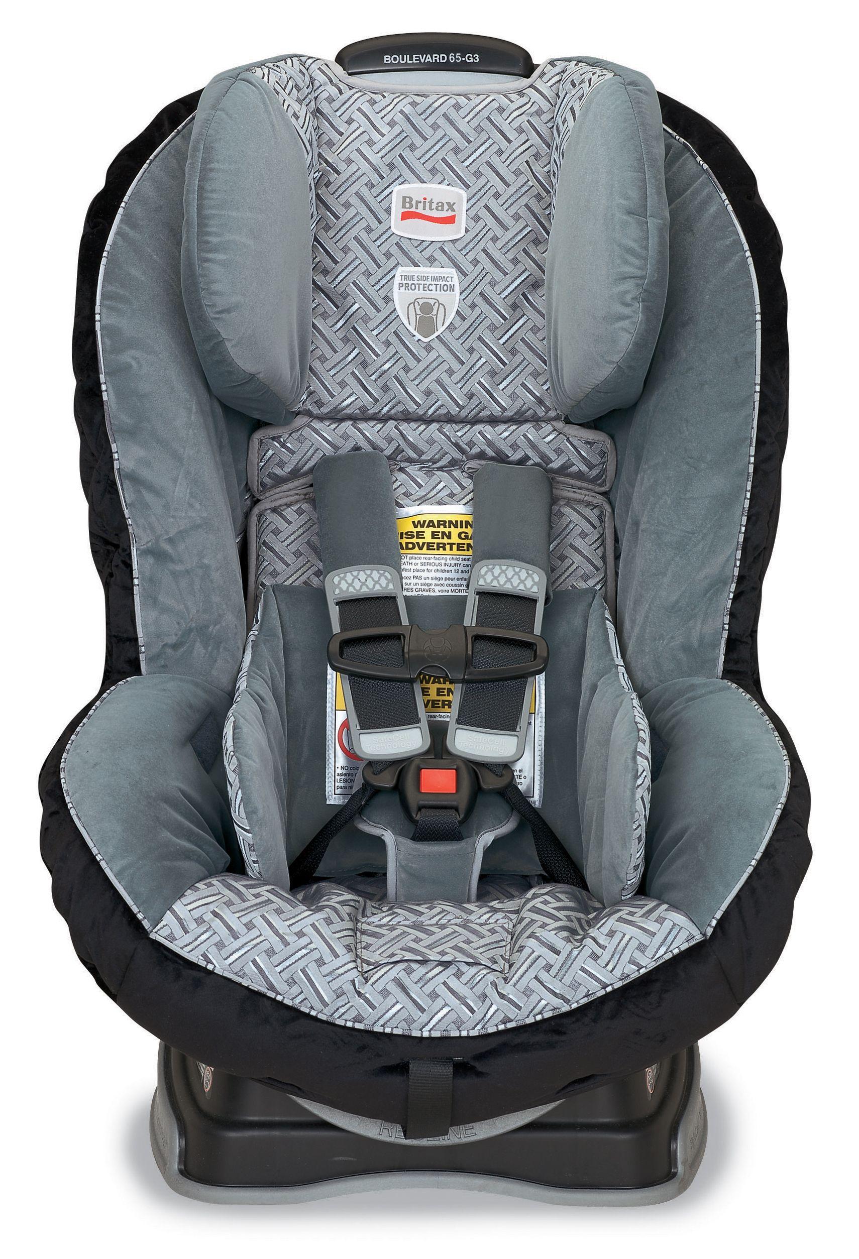 Britax Boulevard 65 Silver Birch Convertible car seat