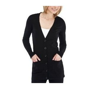 Black boyfriend cardigan for everyday wear. | Capsule Wardrobe ...