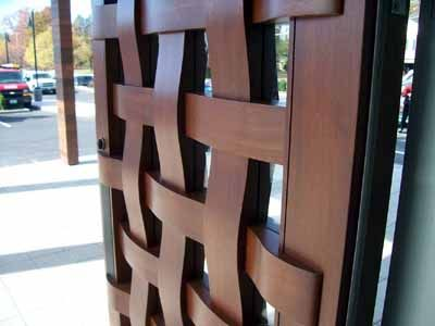 The Woven Door By Lancia Brothers Woodworking And