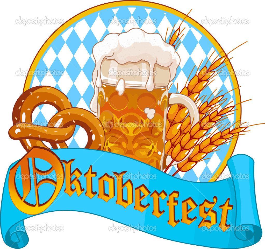 Oktoberfest Celebration design — Stock Vector ...