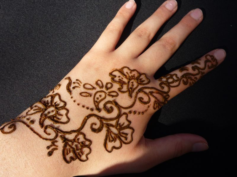 Mehndi Hand Image : Maehndi designs beautiful hand mehndi latest fashion