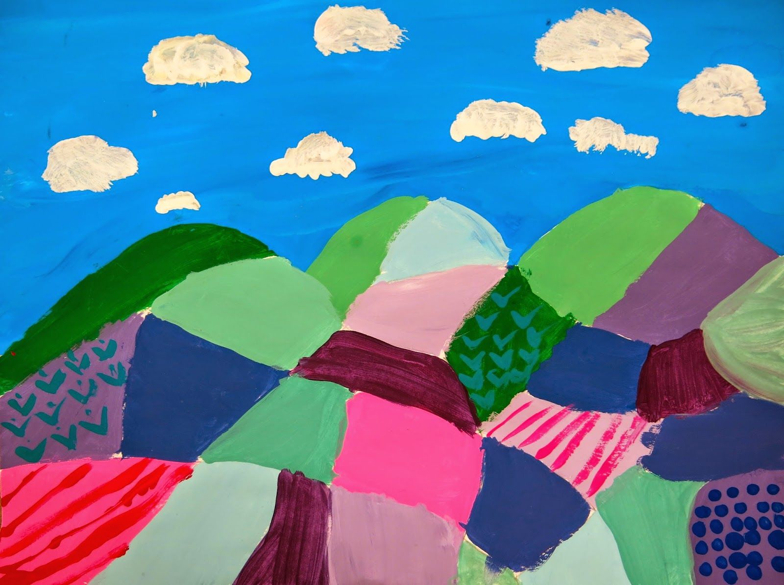 Cassie Stephens: In the Art Room: Fourth Grade Color-Mixing ...
