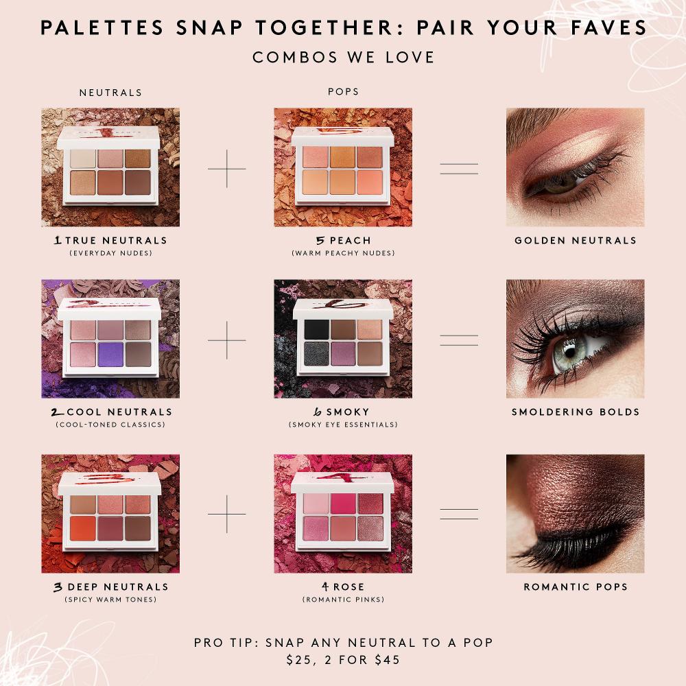 Snap Shadows Mix & Match Eyeshadow Palette Fenty beauty