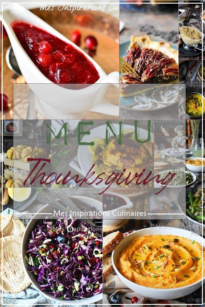 Idée Menu de repas pour Thanksgiving, recette facile et ...