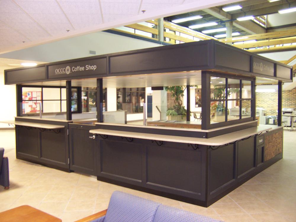 Coffee shop kiosk for University food service en 2020 (con