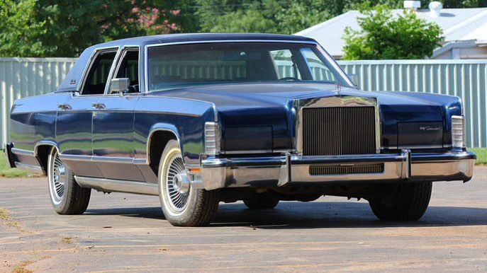 1979 Lincoln Continental Town Car Collector S Series Edition A