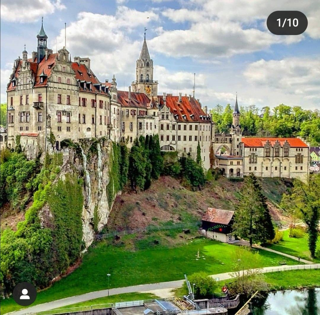 Sigmaringen Castle Germany Bade Wurtemberg Blog Voyage Vichy