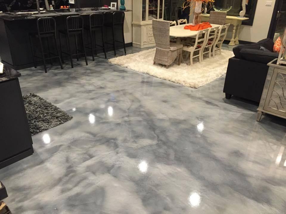 pure metallic metallic epoxy floor coating pictures floors pinterest einrichtung. Black Bedroom Furniture Sets. Home Design Ideas