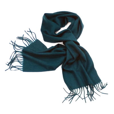 78528ab7da1 Echarpe laine tissée vert foncé. Une écharpe en pure laine douce et chaude  expédiée sous Port gratuit et pochette cadeau offerte. Echarpe laine