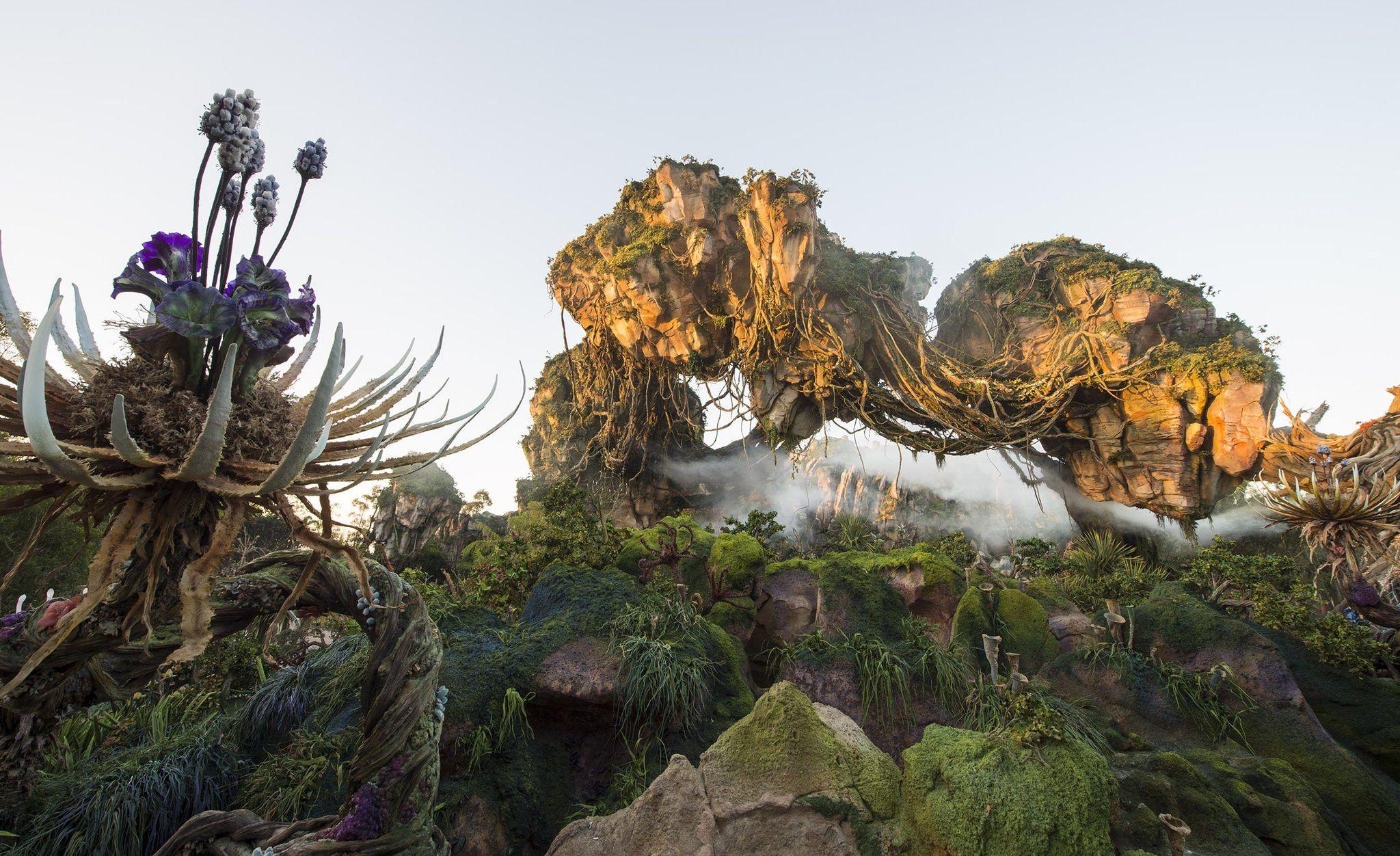 Secrets of Pandora World Of Avatar at Disney's Animal