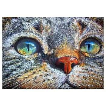 Cat Face 5D Full Drill Diamond Painting DIY Craft