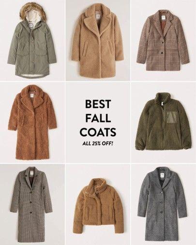 best fall coats - all 25% off! #fallstyle #fallfashion #fallcoats