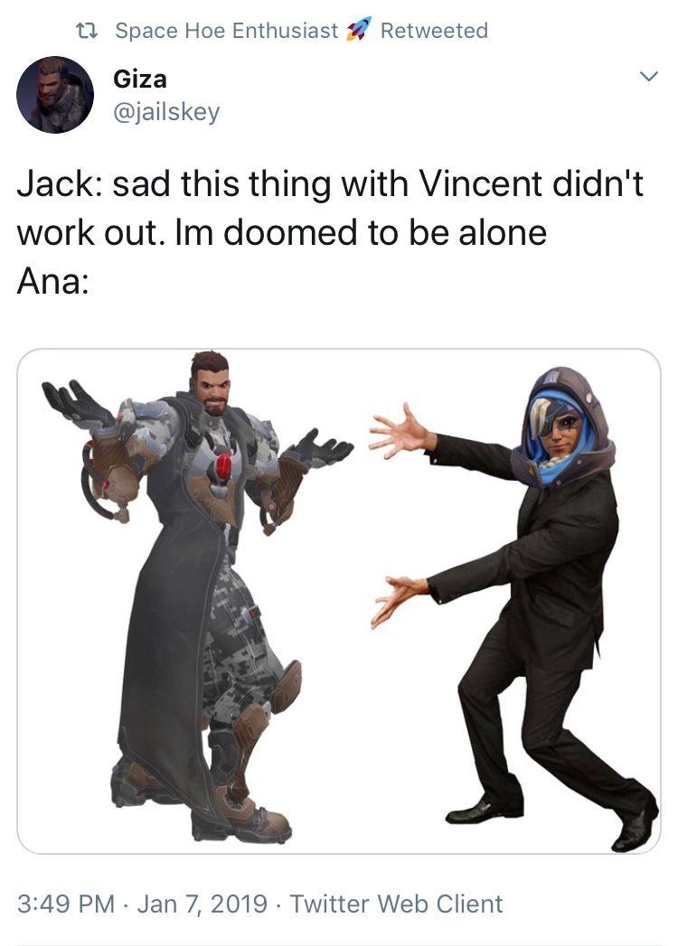 Overwatch Meme Soldier76 Reaper Ana Anaamari Gabrielreyes Jackmorrison Overwatch Funny Overwatch Comic Overwatch Memes