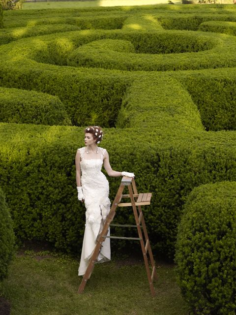 Arcadia Landscape Design: (from An Ad For The Dress- BHLDN Arcadia Gown