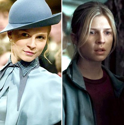 Harry Potter Stars From Sorcerer S Stone To Deathly Hallows Part 2 Harry Potter Fleur Delacour Harry Potter Actors Harry Potter Facts