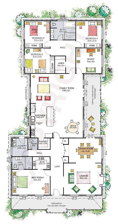 Easy Floor Plan Builder Easy Floor Plan Builder Einfacher Grundrissbauer Floorplansrestaurant Livingroomf Steel Frame House Kit Homes Dream House Plans