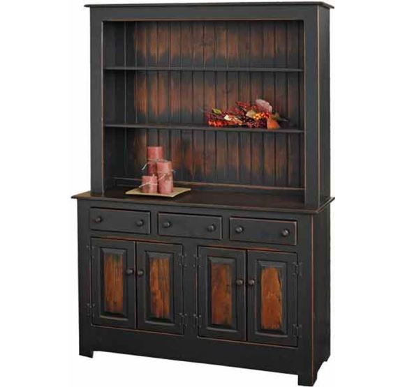 Amish China Cabinet   Home Inspiration - Kitchen / Dining ...