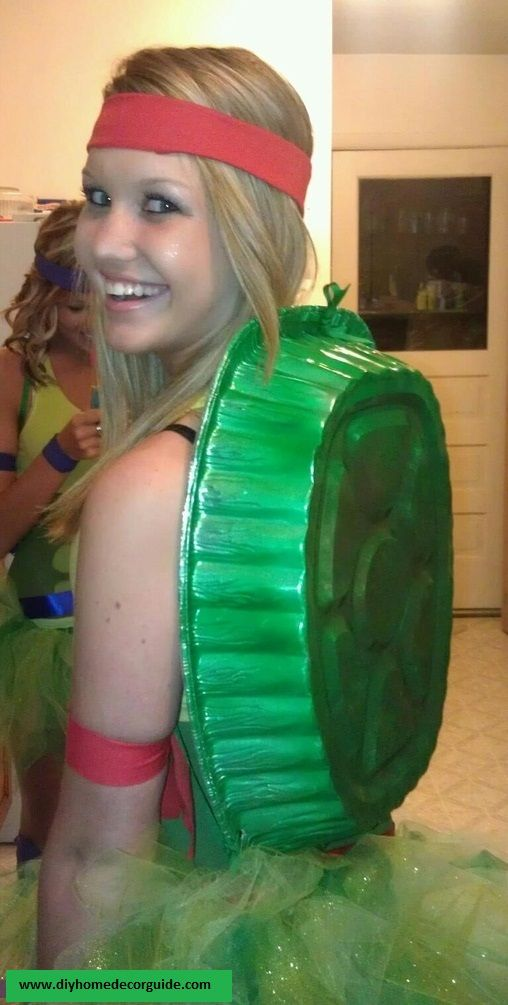 This diy ninja turtle costume can be made with any green dress and this diy ninja turtle costume can be made with any green dress and solutioingenieria Gallery
