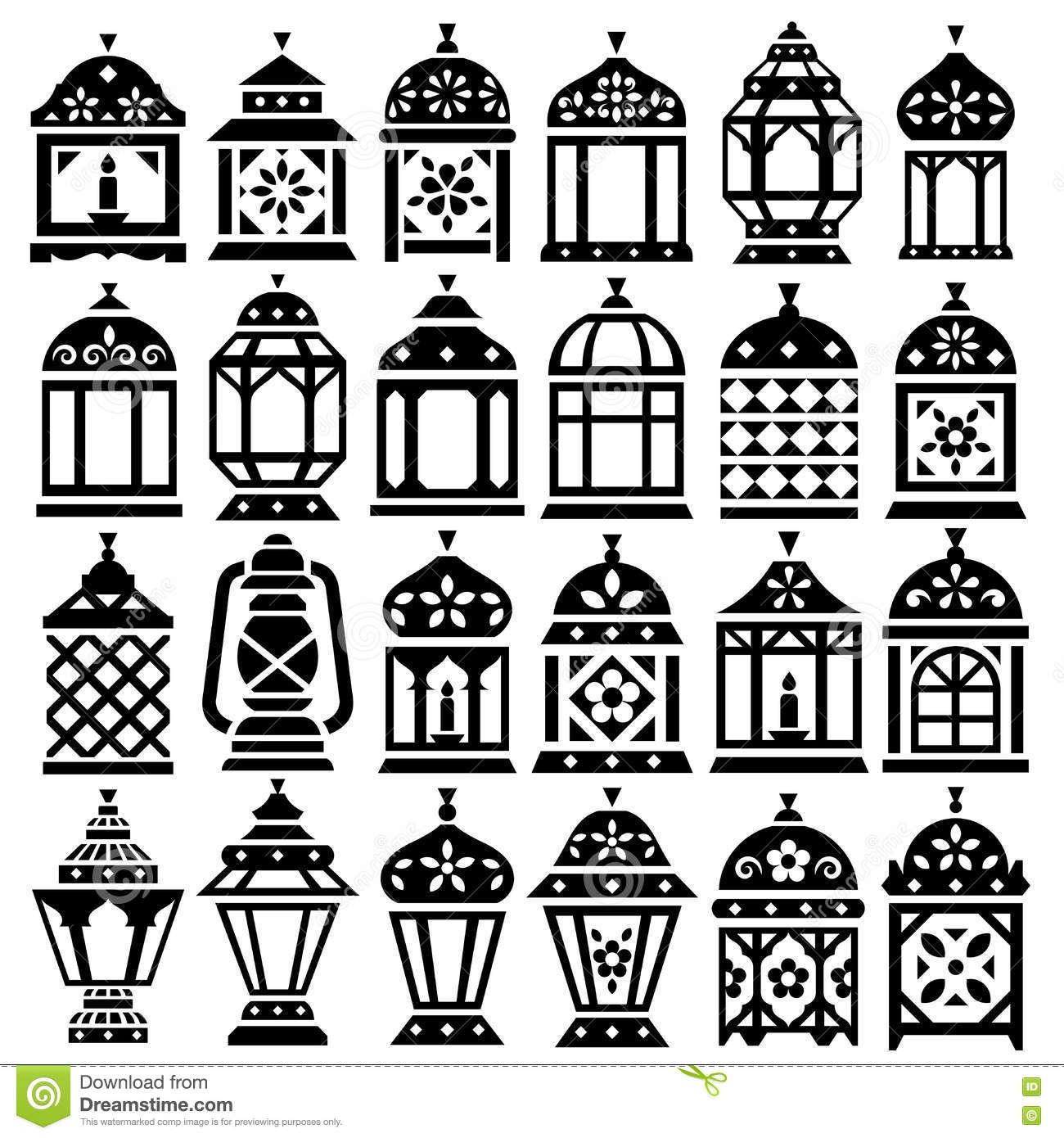 2d lantern template  Image result for lantern 7d | Ramadan lantern, Ramadan, Lanterns