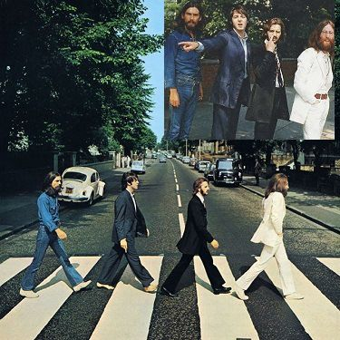 Today in 1969, the photo session for the cover of The Beatles 'Abbey Road' album took place outside Abbey Road studios