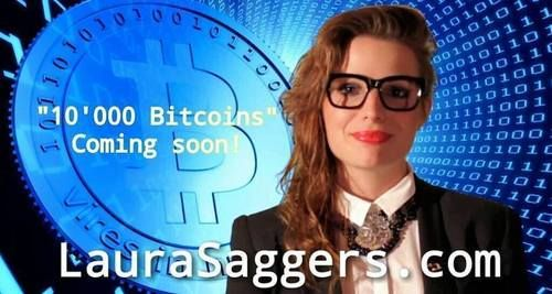 """Bitcoin Blog"" • Santa Monica singer releases world's first bitcoin love song [Video]  #Bitcoin #LauraStaggers #Music #Video #BTC #10000Bitcoins, #Download"