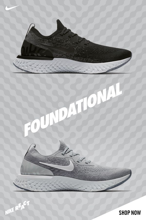 aa404017d02ae Nike's latest cushioning innovation is bouncing on the streets in fresh new  colourways. Nike Epic React is out now!
