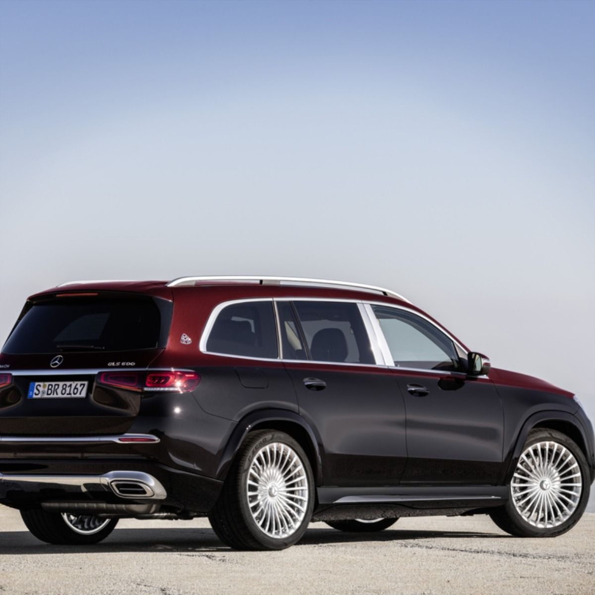 The Suv Was Introduced In Its Mercedes Maybach Gls 600 4matic Trim