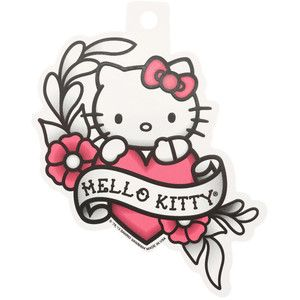 Hello Kitty Tattoo Flash Sticker Hot Topic Hello Kitty Tattoos Hello Kitty Drawing Hello Kitty Art