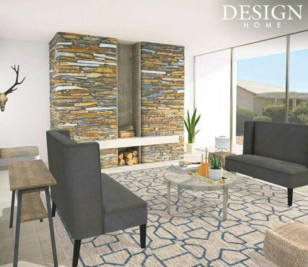Desert Estate Arizona Living Room via #DesignHome ...