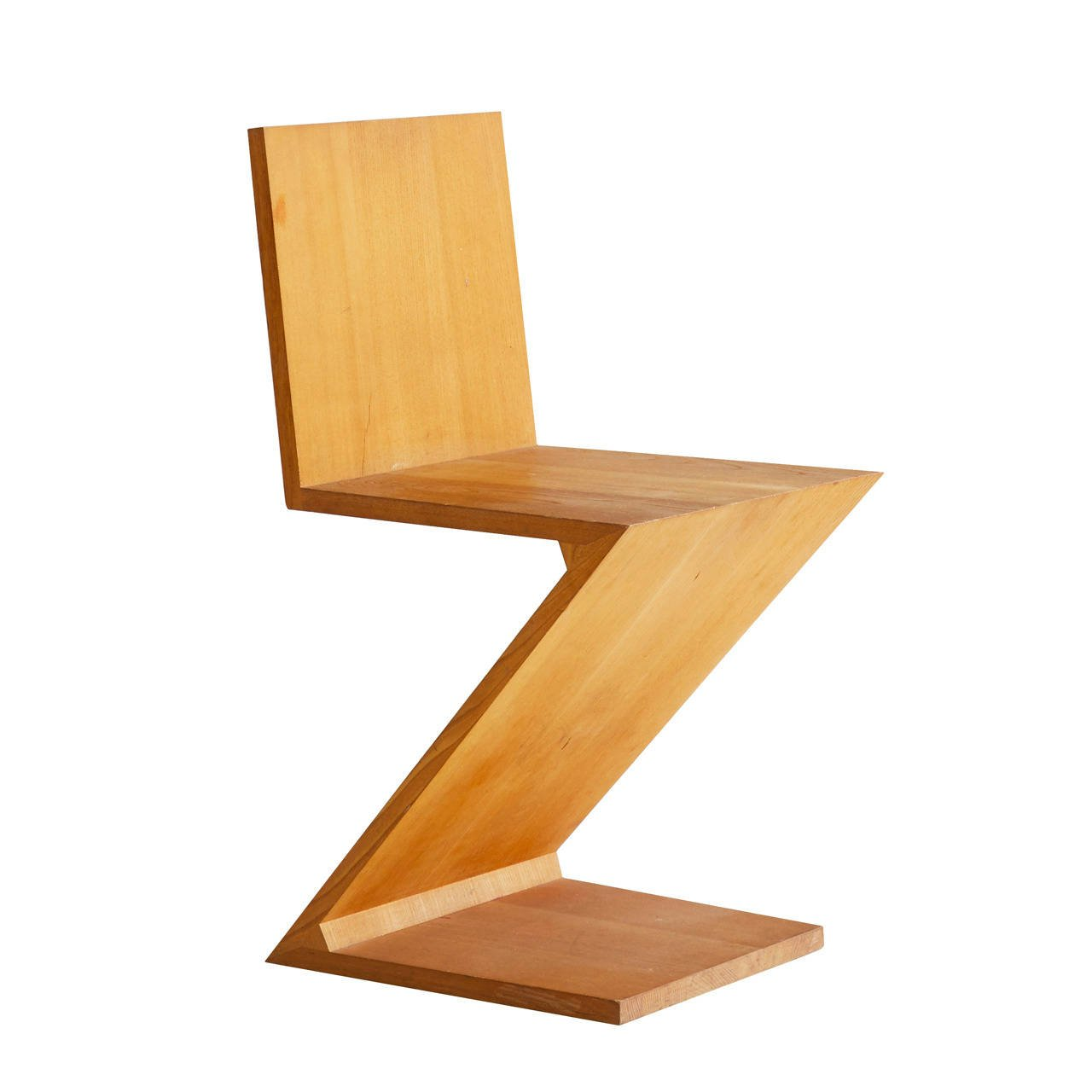 Gerrit Rietveld Zig Zag Chair From A Unique Collection Of Antique And Modern Chairs At Https Www 1stdibs Com Furniture Seatin Zigzag Chairs Chair Diy Chair