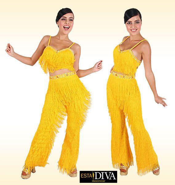 7f8f993f3df Fringe Pants Costume Latin Salsa Latin Fringe Pants Salsa