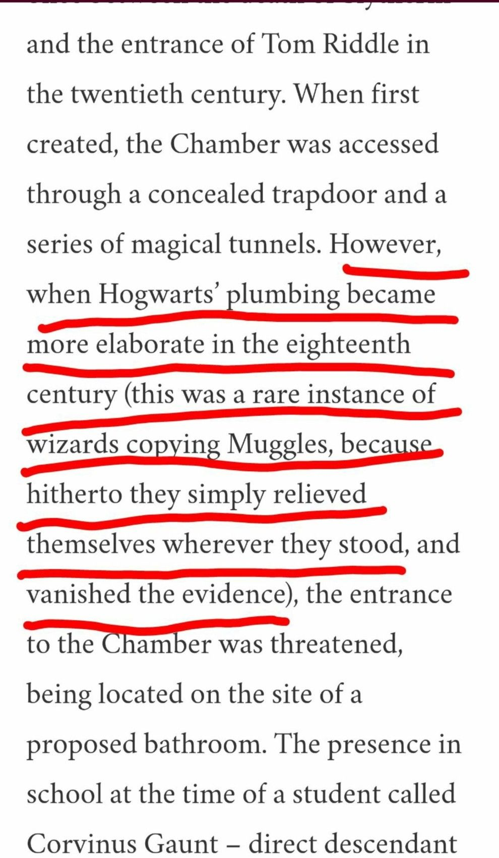 Just Look At This Actual Excerpt From Rowling S Entry About The Chamber Of Secrets Harry Potter Universal Potter Harry Potter Movies