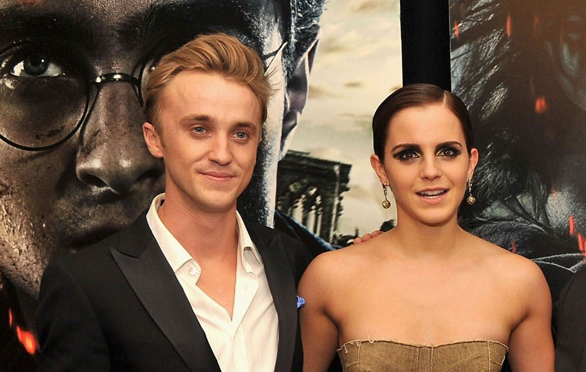 Emma Watson and Tom Felton Had a 'Harry Potter' Reunion