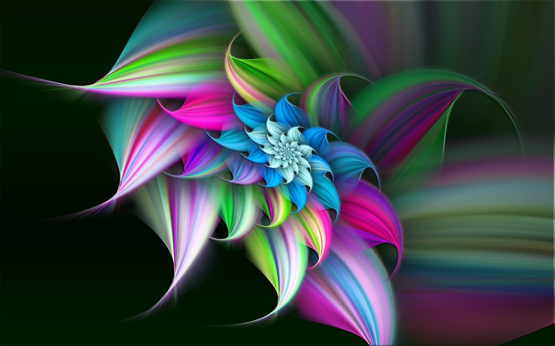Summer Flower Art Desktop Background In High Quality Resolutions