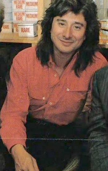Steve Perry…that hair