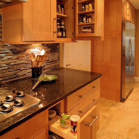 Back Splashes With Black Granite Countertops Kitchen Design Ideas