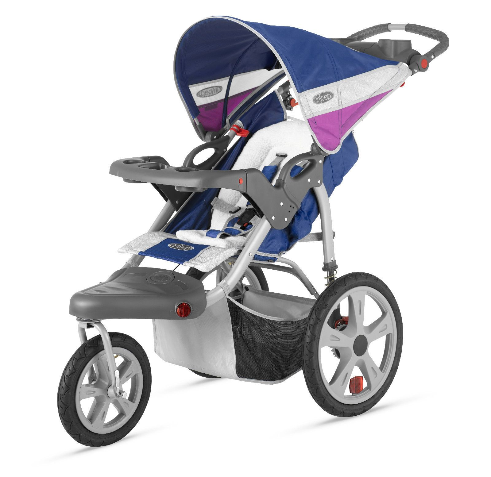 InStep Grand Safari Single Jogging Stroller Navy