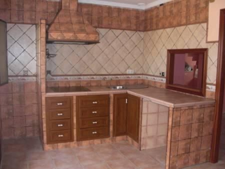 Modelos de cocinas empotradas en cemento imagui for Cocinas de concreto forradas de azulejo