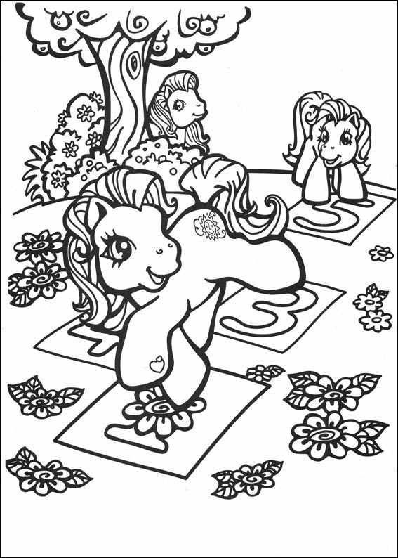 Mon Petit Poney My little Pony | Värityskuvia My little pony ...