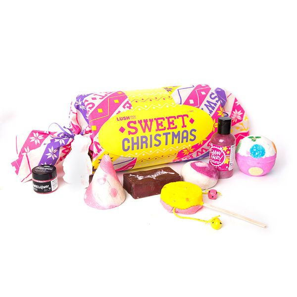 Sweet Christmas Gift - A giant candy roll stuffed with all our sweetest smelling treats!