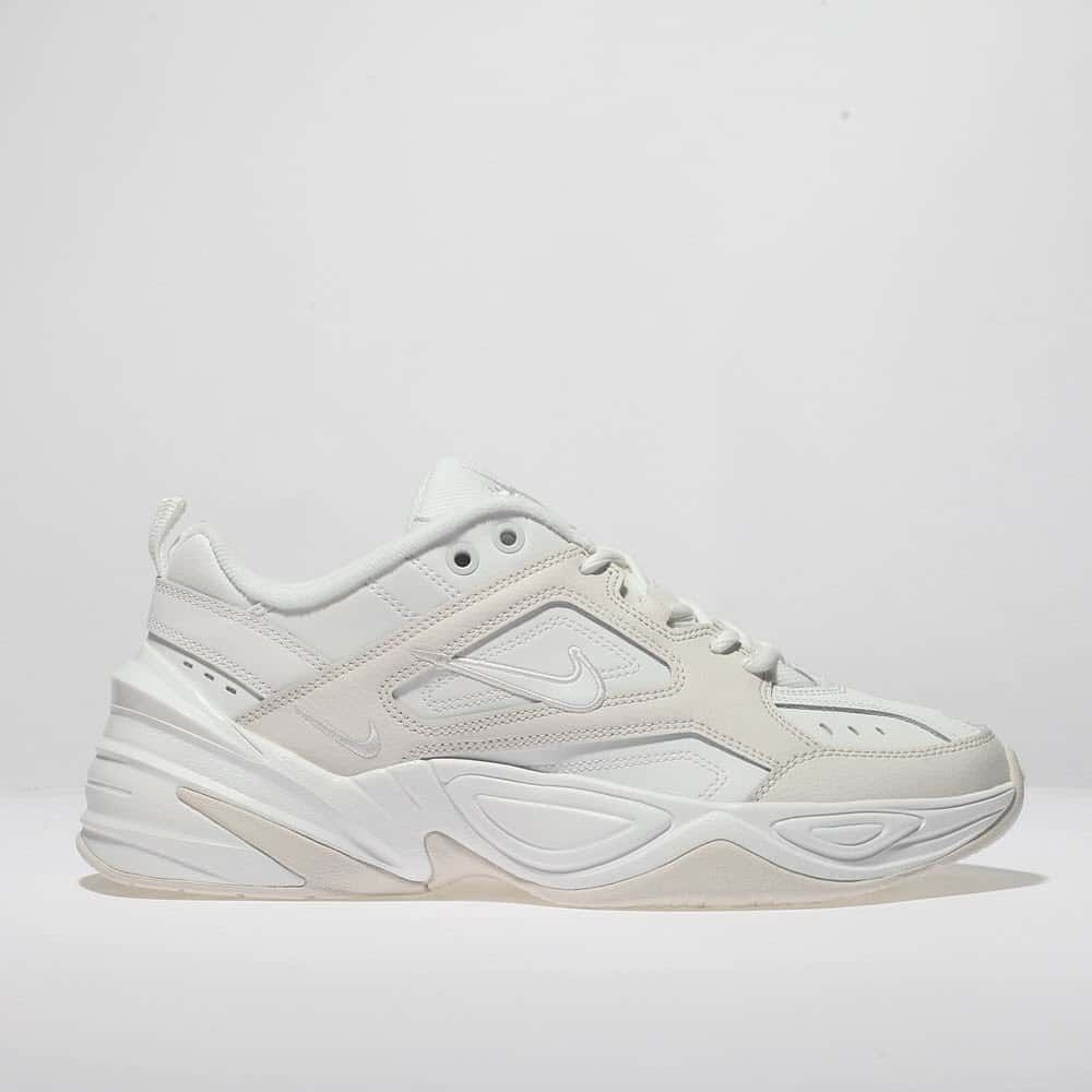 womens white nike m2k tekno trainers