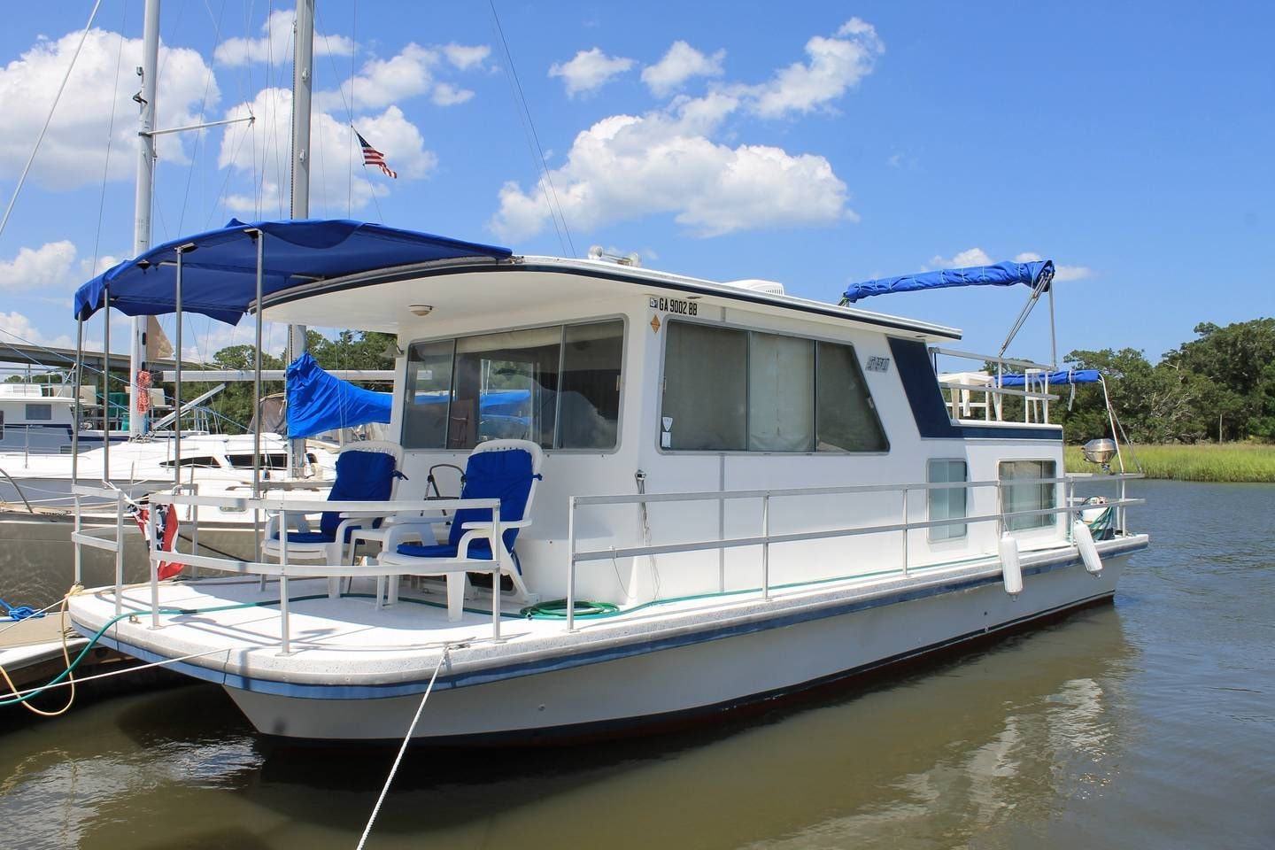 Beach shack boats for rent in jekyll island