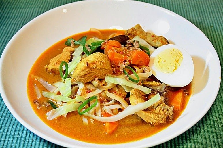 Resepi Mee Kari Ayam Ringkas Dan Sedap Aynorablogs Sebarkan Bahagia Resep Masakan Malaysia Makanan