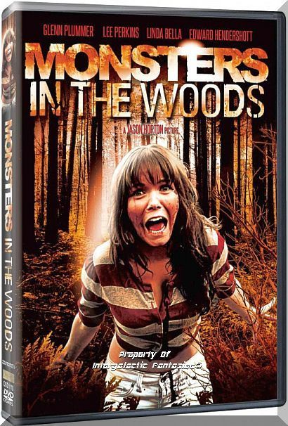 Dvd Monsters In The Woods 2012 Linda Bella Claudia Perea Horror Title Into The Woods Movie Thriller Movies Scary Full Movies Online Free