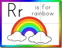 r is for rainbow printables from confessions of a homeschooler r