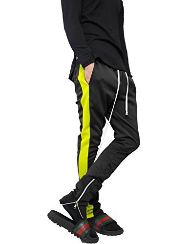 Hat And Beyond Wiv Mens Stripe Track Pants Skinny Fit Stretch Elastic Slim Trouser Amazon Womens امازون Christmas Me Mens Stripes Slim Joggers Skinny Fit