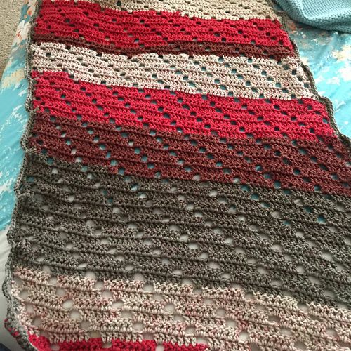 It Is A Sideway Rectangle Shawl Free Crochet Pattern Maybe With
