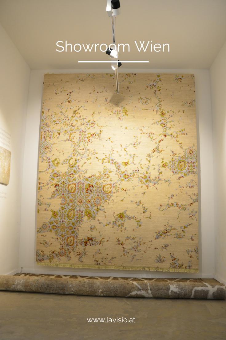 Der Teppich Fresco aus der Sabba-Reihe. Die Ornamentik spielt auf ...