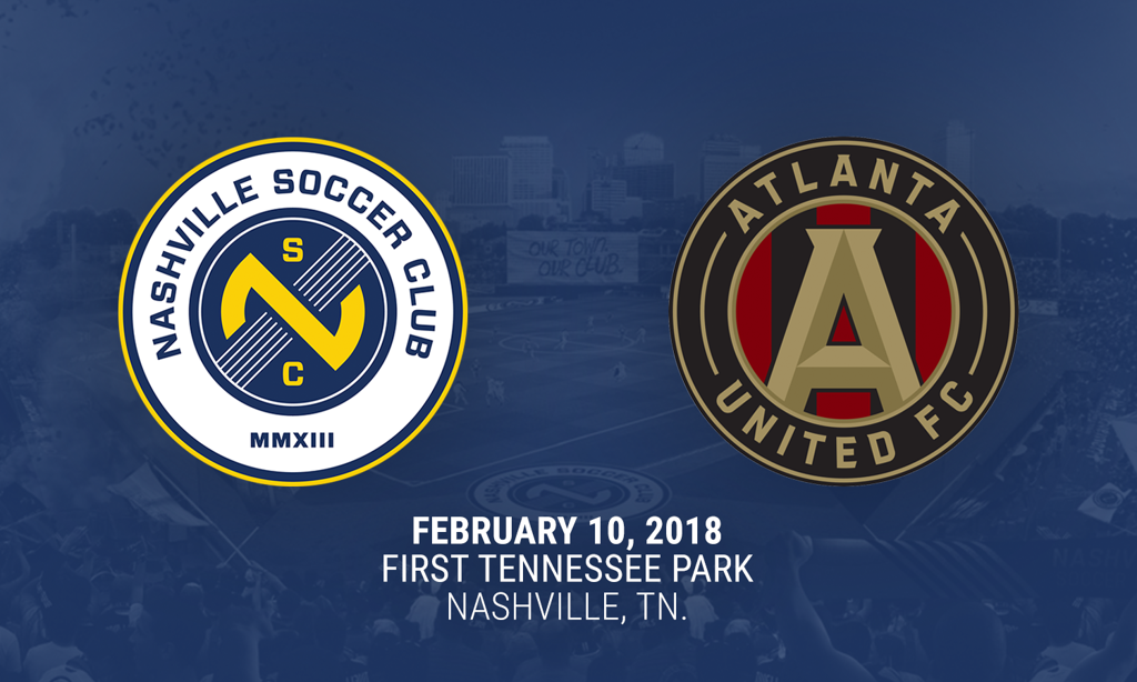 Will Face Mls Club Atlanta United In Historic Preseason Friendly